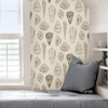 Picture of Cream Coquina Scalamandré Self Adhesive Wallpaper