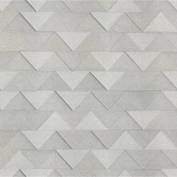 Picture of Matrix Grey Triangle Wallpaper