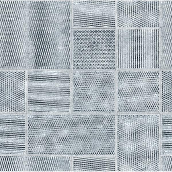 Picture of Ellison Blue Geometric Wallpaper