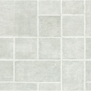 Picture of Ellison Light Grey Geometric Wallpaper