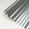 Picture of Mayfair Charcoal Metallic Stripe Wallpaper