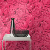 Picture of Rosenfield Pink Floral Wallpaper