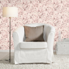 Picture of Rosenfield Light Pink Floral Wallpaper