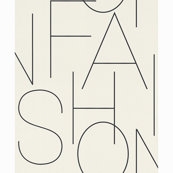 Picture of Runway White Typography Wallpaper