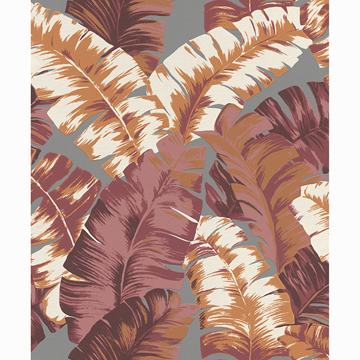 Picture of Pisang Orange Palm Leaf Wallpaper