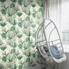 Picture of Nameri Dark Green Tropical Frond Wallpaper