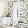 Picture of Nameri Grey Tropical Frond Wallpaper