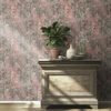Picture of Hamadan Moss Textile Wallpaper