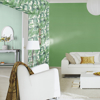 Picture of Orissa Green Palm Frond Wallpaper