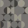 Picture of Cakara Grey Geometric Wallpaper