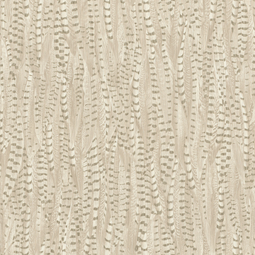 Picture of Pinna Cream Feather Texture Wallpaper