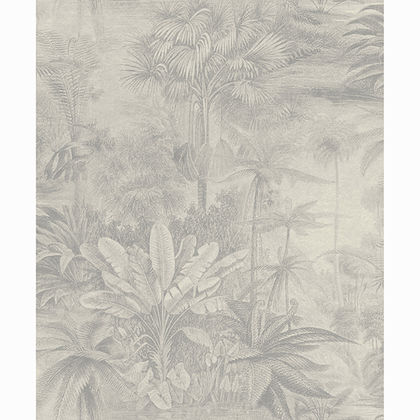 Picture of Anamudi Silver Tropical Canopy Wallpaper