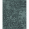 Picture of Anamudi Teal Tropical Canopy Wallpaper