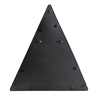 Picture of Gatana Black Triangle Shelf Mirror
