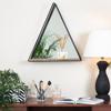 Picture of Gatana Black Triangle Shelf Mirror