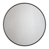 Picture of Adelina Black Circular Mirror