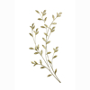 Picture of Saba Gold Leafy Boughs Wall Art