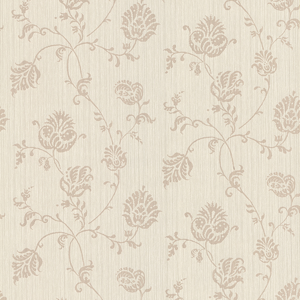 Picture of Isabel Champagne Jacobean Trail Wallpaper