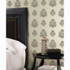 Picture of Madeline Grey Floral Wallpaper