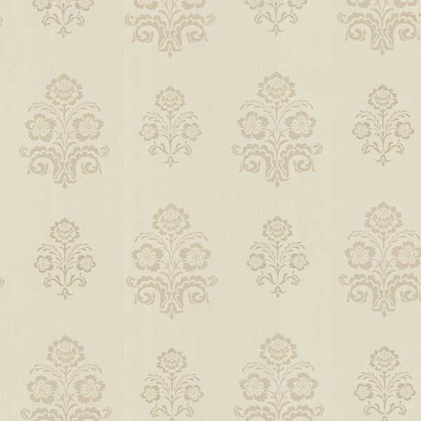 Picture of Madeline Beige Floral Wallpaper