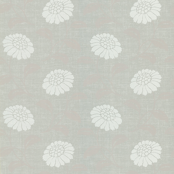 Picture of Anouk Light Grey Floral Wallpaper