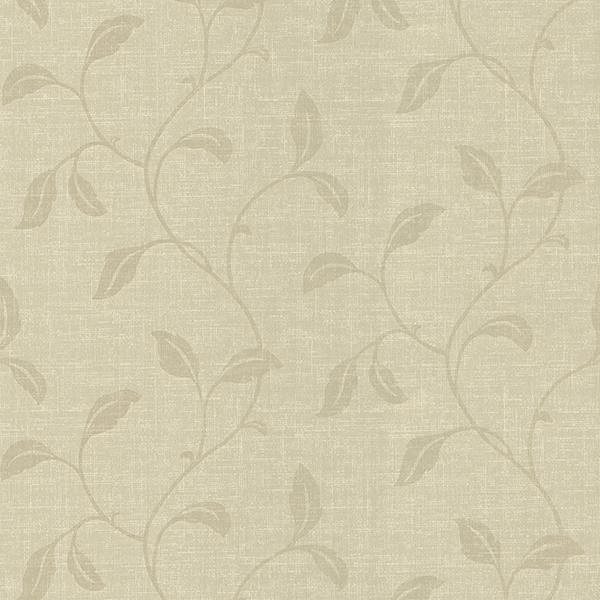 Picture of Cosette Beige Trailing Vine Wallpaper