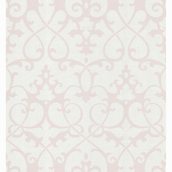 Picture of Gilbert Grey Ironwrought Trellis Wallpaper