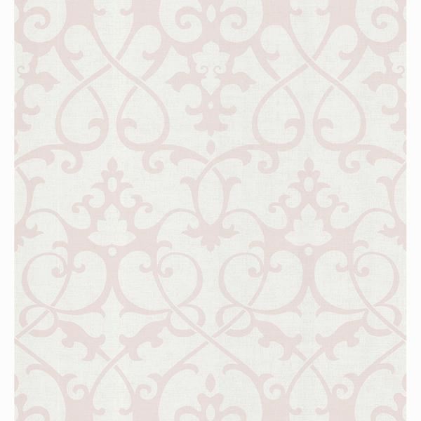 Picture of Gilbert Grey Ironwrought Trellis Wallpaper