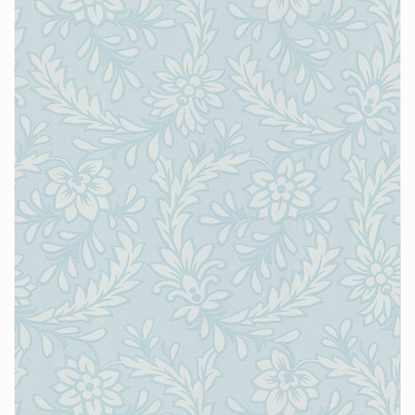 Picture of Frieda Blue Floral Wallpaper