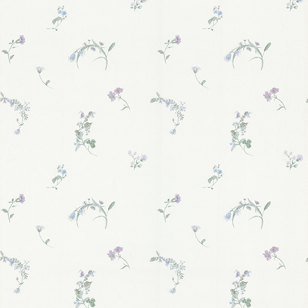 Picture of Everly Off-White Botanical Wallpaper