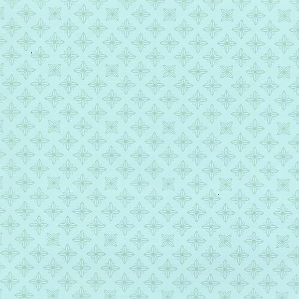 Picture of Celeste Mint Geometric Wallpaper