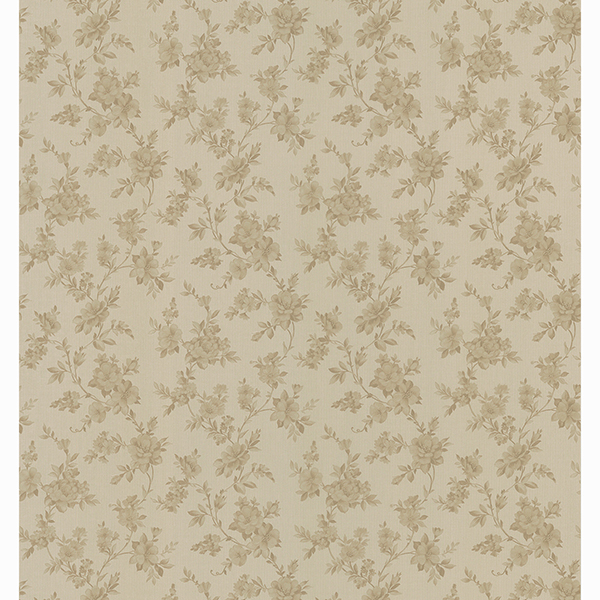 Picture of Edna Brown Country Floral Wallpaper