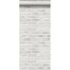 Picture of Burnham Grey Brick Wall Wallpaper