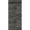 Picture of Burnham Black Brick Wall Wallpaper
