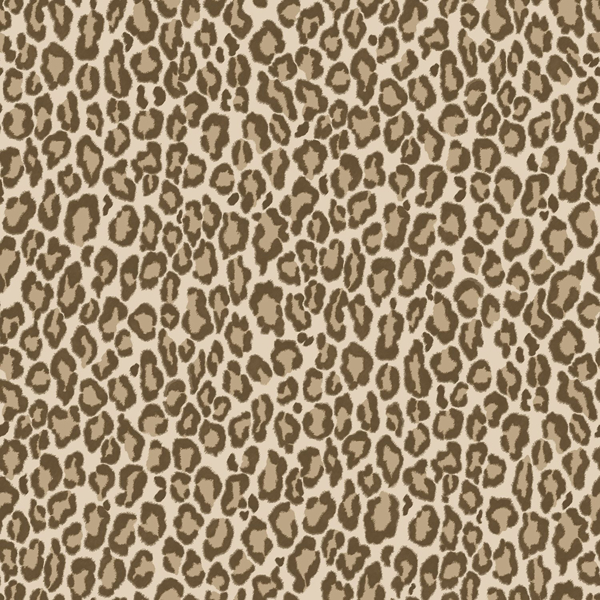 Picture of Cicely Brown Leopard Skin Wallpaper
