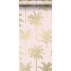 Picture of Taj Blush Palm Trees Wallpaper