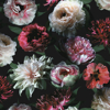 Picture of Contessa Ruby Flowers Wallpaper