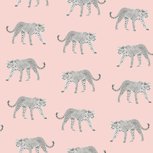 Picture of Prowl Pink Jaguars Wallpaper
