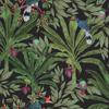 Picture of Carola Black Jungle Tropics Wallpaper