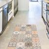 Picture of Persian Tiles Vinyl Floor Runner