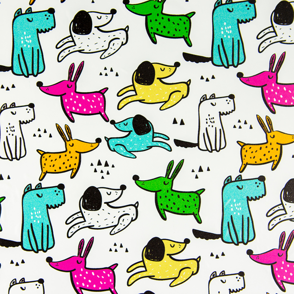 Picture of Dogs Self Adhesive Film