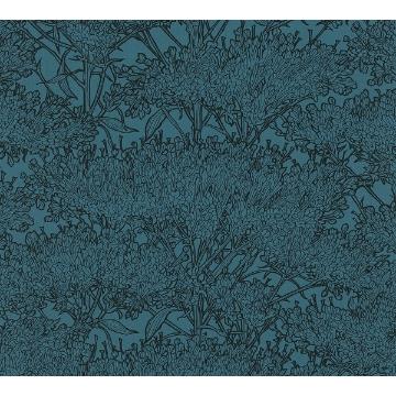 Picture of Hornbeam Blue Tree Wallpaper
