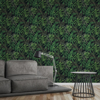 Picture of Sapo Green Tropical Foliage Wallpaper