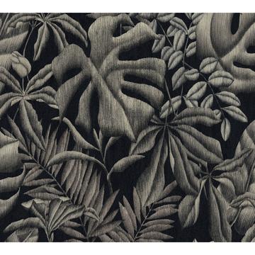 Picture of Sapo Grey Tropical Foliage Wallpaper