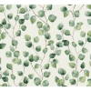 Picture of Hedera Green Painterly Vine Wallpaper