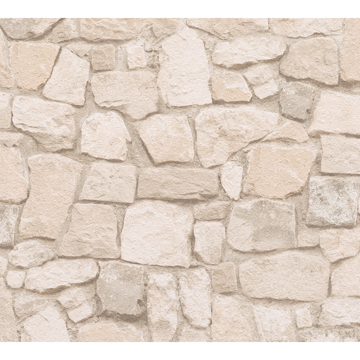 Picture of Morris Beige Natural Stone Wallpaper
