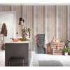 Picture of Chapin Beige Beachwood Wallpaper