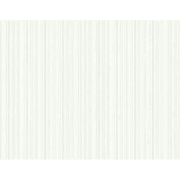 Picture of Sebasco Dove Vertical Pinstripe Wallpaper