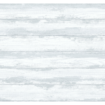 Picture of Truro Grey Weathered Shiplap Wallpaper