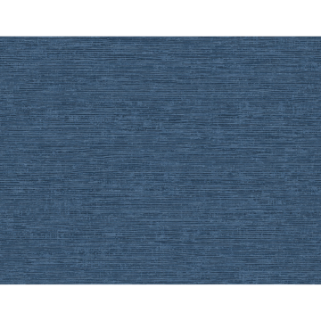 Picture of Tiverton Indigo Faux Grasscloth Wallpaper